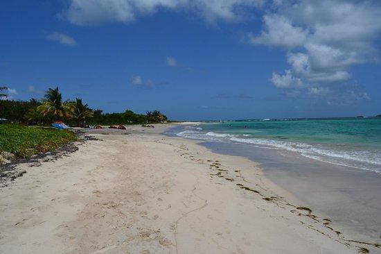 Villawellness St. Lucia: Strand um die Ecke