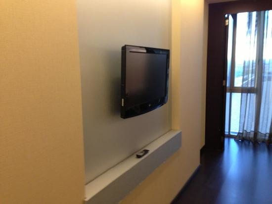 Diagonal Plaza Hotel : tv