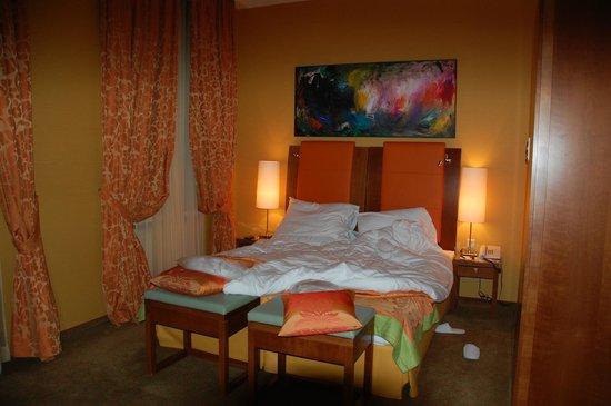 Small Luxury Hotel Das Tyrol : Lits confortables