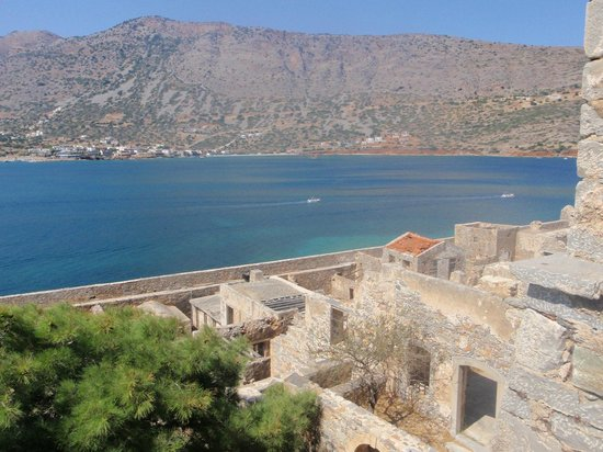 Elounda Heights Apartments and Studios: View from Spinalonga