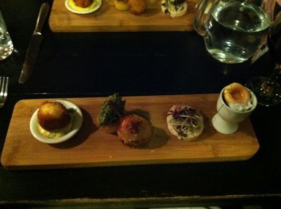 The Green Room : taster menu