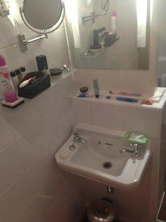 York & Albany: smallest bathroom ever