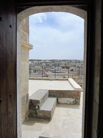Doors Of Cappadocia Hotel: View from room on top floor