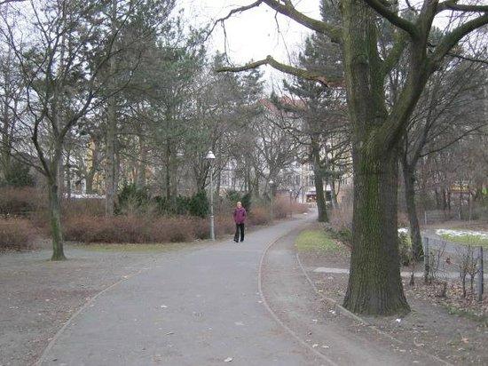 Hotel Tiergarten: Little Tiergarten Park opposite