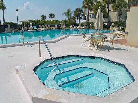 Lands End, Condominium: Pool/Jacuzzi Area