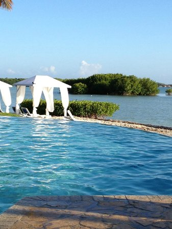 Grand Bahi-a Ocean View Hotel: View from pool chair