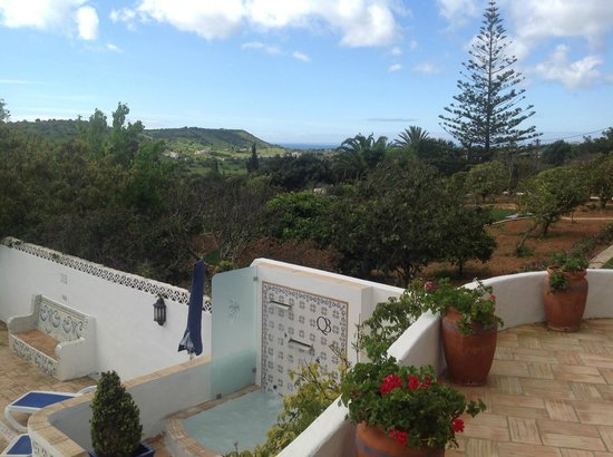 Quinta Bonita Luxury Boutique Hotel: View from main patio