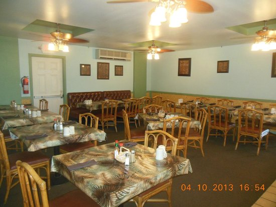 Tante's Island Cuisine : Private Dining