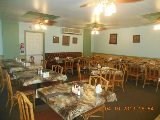 Tante's Island Cuisine : Private Dining Room