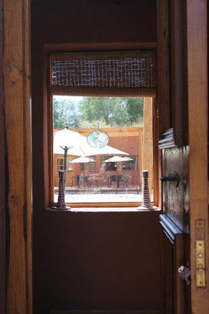 Casa Solcor Boutique Bed & Breakfast: Vista de una casa a la otra.