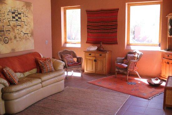 Casa Solcor Boutique Bed & Breakfast: Living Casa Solcor.