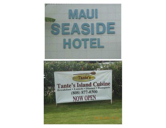Tante's Island Cuisine @ Maui SeaSide Hotel