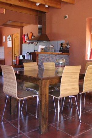 Casa Solcor Boutique Bed & Breakfast: Cocina, comedor