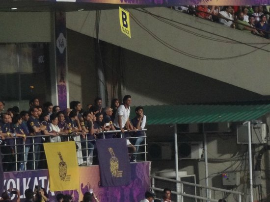 Eden Gardens: KKR owner was there supporting his team