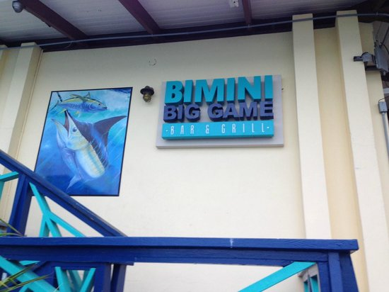 Bimini Big Game Club Resort & Marina: Good times!