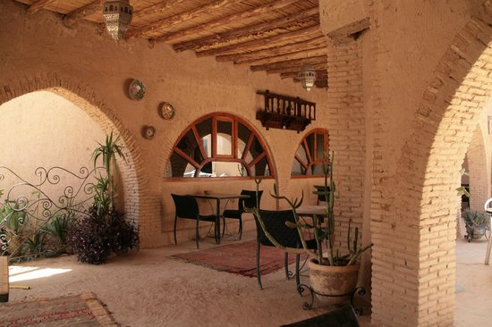 Auberge Ksar Sania: terrasse