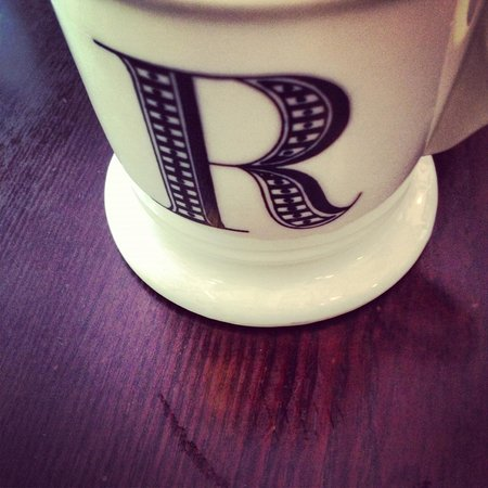 Cafe Rialto: cute mugs