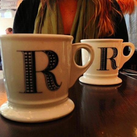 Cafe Rialto : cute Rialto mugs