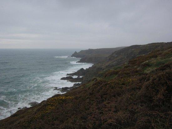 South West Coast Path National Trail: South West Coast Path, Land's End - Porthcurno