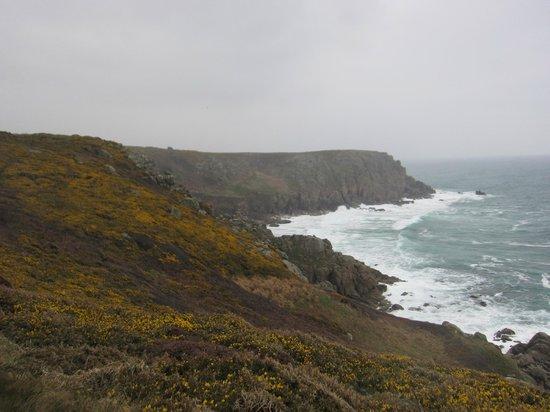 South West Coast Path National Trail : South West Coast Path, Land's End - Porthcurno