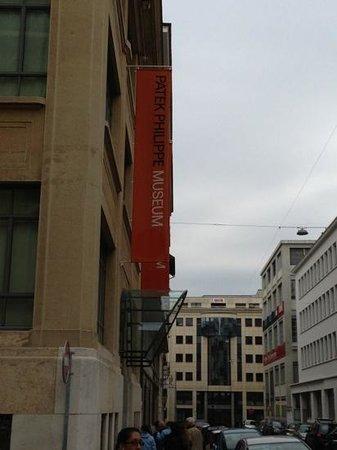 Musée Patek Philippe : exterior.