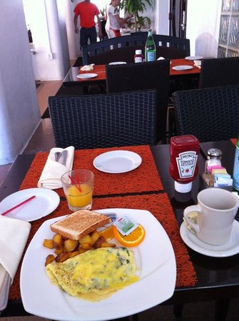 Beacon Hotel: The breakfast is included