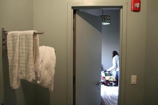 Union Hotel : Es más grande el baño que la habitación!