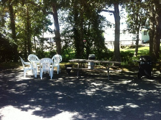 Parkers River Resort : Additional Picnic and Barbecue Area