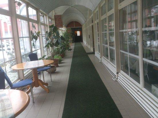 Hotel Slavia: Hallway