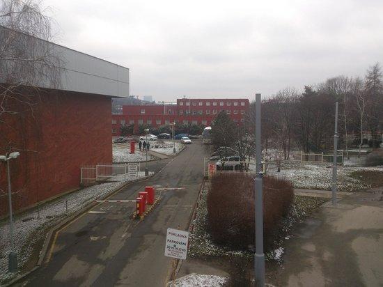 Hotel Slavia: Far view