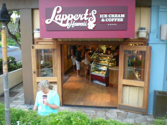 Lappert's Ice Cream: South elevation