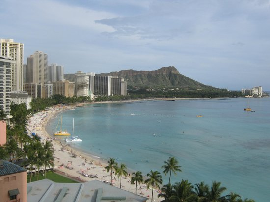 Sheraton Waikiki: View from our room