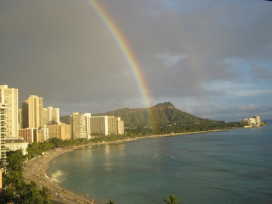 Sheraton Waikiki: We were at the end of the rainbow!