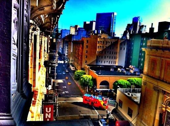 هوتل ديفا: view from room! awesome taste of this city
