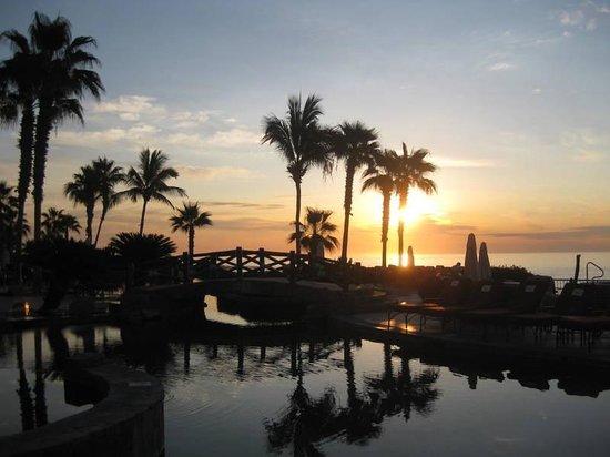 Hacienda del Mar Los Cabos: Pool at sunrise