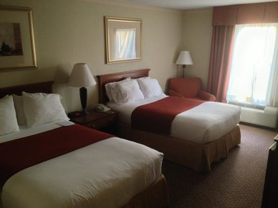 Holiday Inn Express Breaux Bridge (Lafayette Area): simply.... AWESOME rooms!