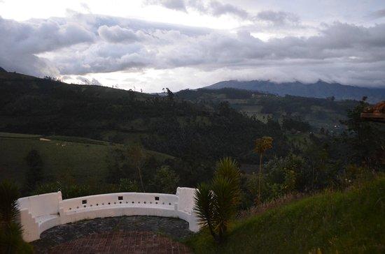 Casa Mojanda: View from main building