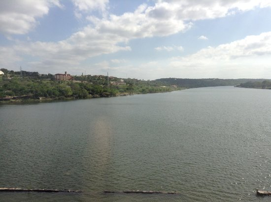 Hampton Inn Marble Falls-On The Lake: View from our room
