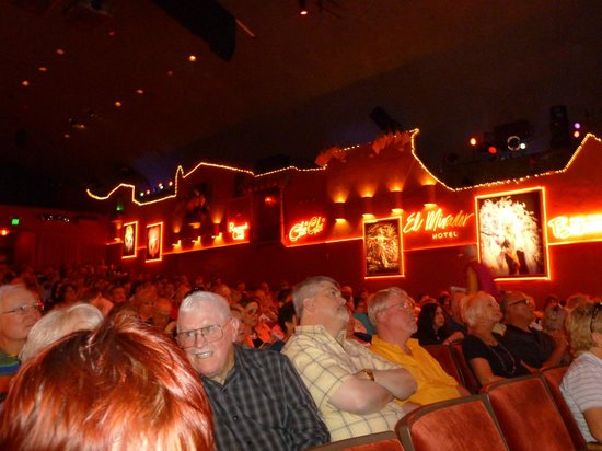The Fabulous Palm Spring Follies: Inside the theater