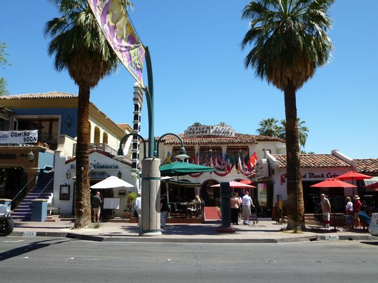 The Fabulous Palm Spring Follies: Across from the theater