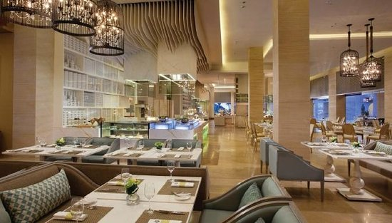 Mulia Villas: The Cafe