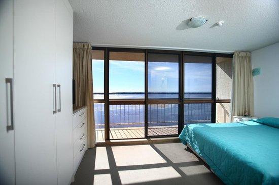 Gemini Resort : Master Bedroom in a three bedroom apartment