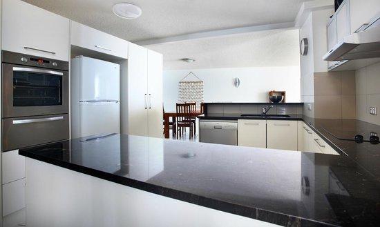 Gemini Resort : Kitchen in a three bedroom apartment