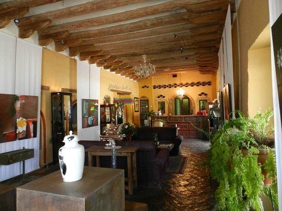Hotel La Posada de San Antonio : Reception Area