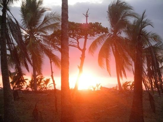 Cabinas Los Cocos: one beautiful sunset after another!