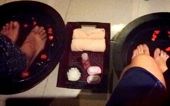 Spa Bali Padma: foot bath
