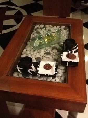 Spa Bali Padma: the tea & cookies