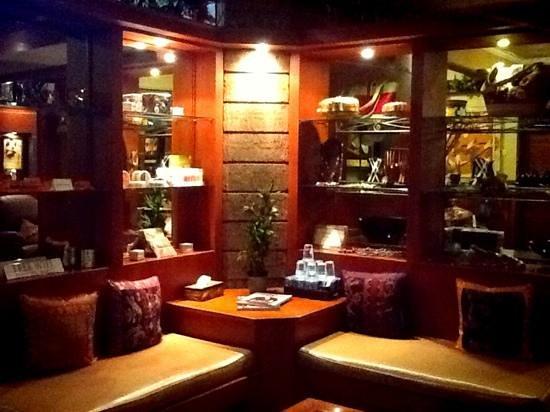Spa Bali Padma: some angle in waiting room