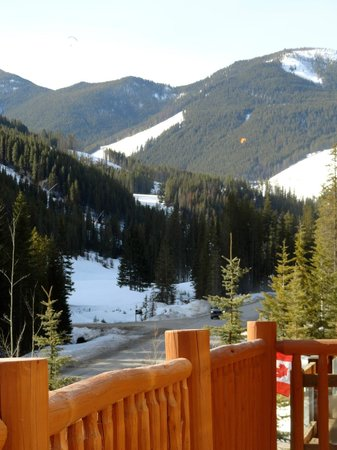 Wayward Chalet: The views from the front deck