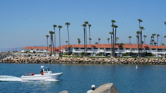 Oceanside Marina Suites: The suite in front of the beach area